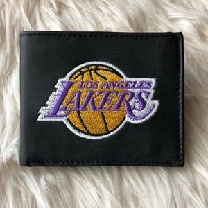 Los Angeles Lakers Billfold Wallet New